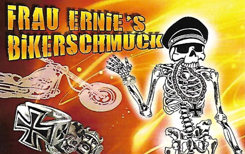 Frau Ernies Bikerschmuck-Logo